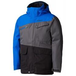 Jaka Boys Space Walk Jacket Black Peak blue