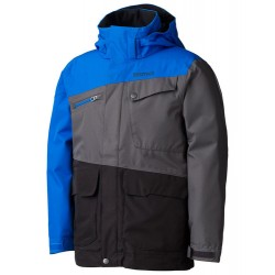 Boys Space Walk Jacket Black Peak blue