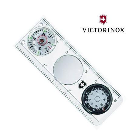 Kompass ar termometru un līneālu