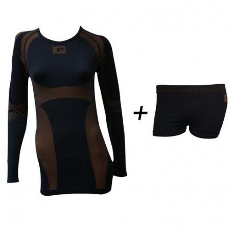 Termo krekls Premium Women Black Saffron