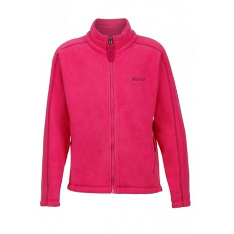Jaka Girls Lassen Fleece Pink rock