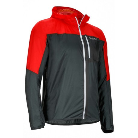 Air Lite Jacket Dark zinc Scarlet red