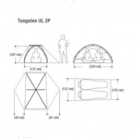 Telts Tungsten UL 2P
