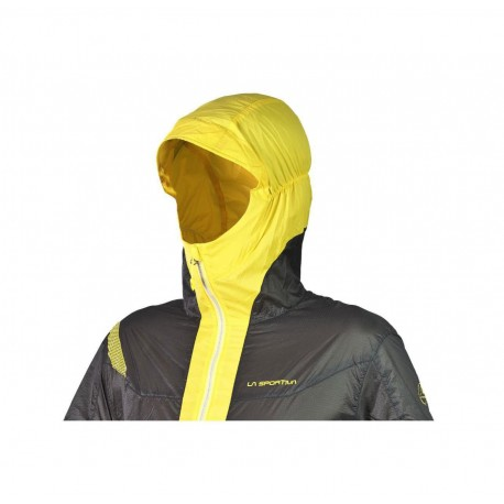 Oxygen Evo Windbreaker Jkt Grey Yellow