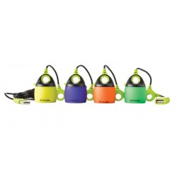 Laternas kupoli Light-A-Life Mini Colored Shades