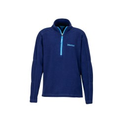 Jaka Boy's Rocklin 1/2 Zip Arctic navy