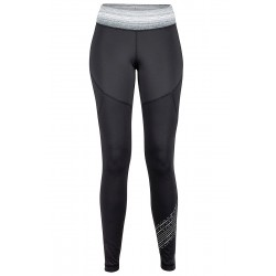 Termo bikses Wm's Fore Runner Tight Black Grey storm