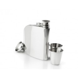 Blašķe Glacier Stainless Trad Flask Set, 177ml