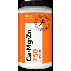 Uztura bagātinātājs Ca-Mg-Zn+D3 750, 90 tabletes