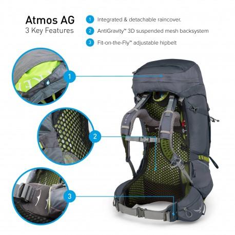 Mugursoma Atmos AG 65