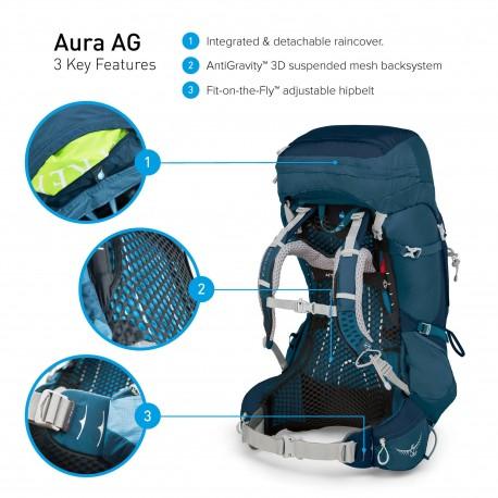 Mugursoma Aura AG 65