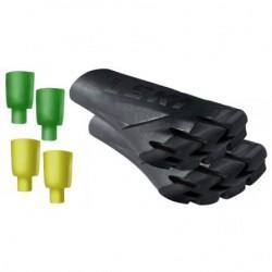 Rubber tip Vario-System Powergrip Pad