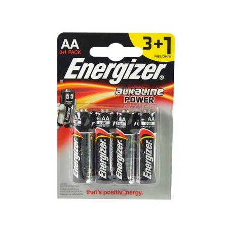 ENERGIZER Basic AA B3+1 1.5V Alkaline