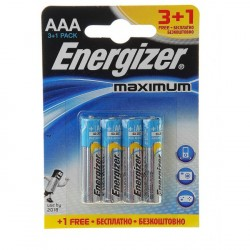 ENERGIZER MAXIMUM AAA B3+1 1.5V