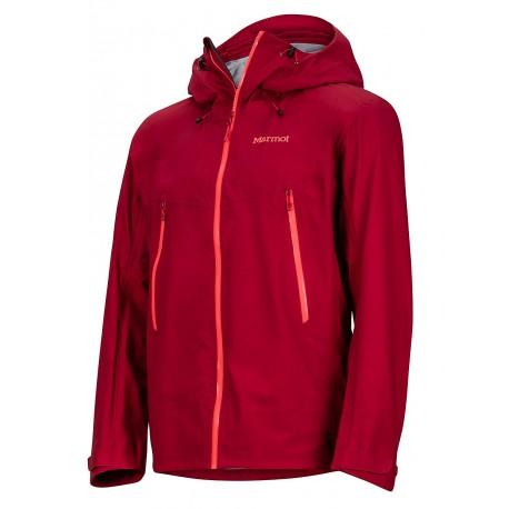 Jaka Red Star Jacket Sienna red