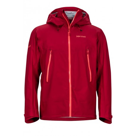 Red Star Jacket Sienna red