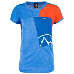 Krekls Push T-Shirt W Cobalt blue Lily orange