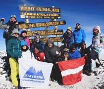 DIENASGRĀMATA. Kilimandžāro 2018