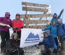 DIENASGRĀMATA. Kilimanjaro 2017